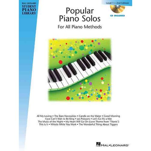 Popular Piano Solos, Level 1: For All Piano Methods