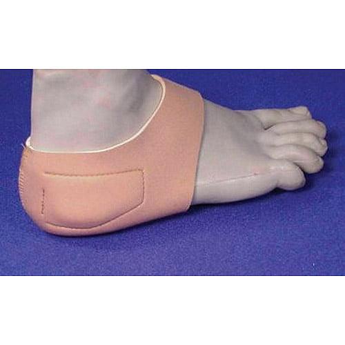 Heel Hugger with therapeutic gel pads Men < 6 ; Women < 8