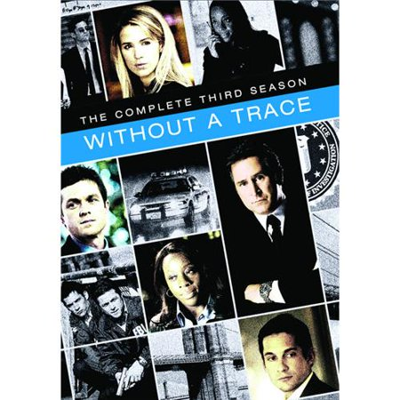 Without A Trace  The Complete Third Season  6 Disc Set  Dvd 2004 05
