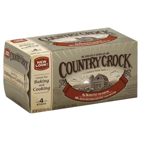 Unilever Country Crock Shedd's Spread Vegetable Oil Spread, 4 ea