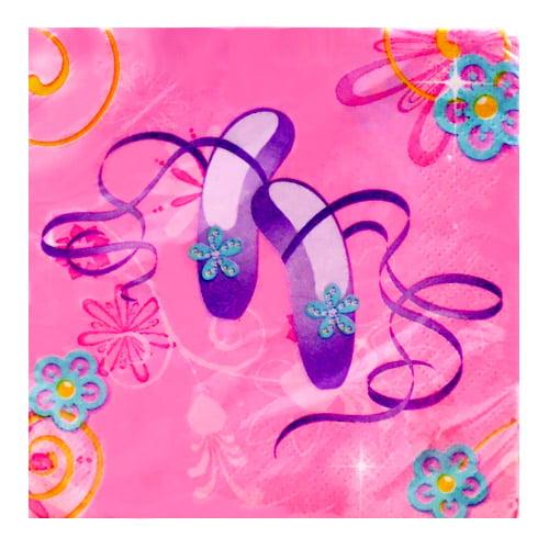 Barbie 'Perennial Princess' Small Napkins (16ct)