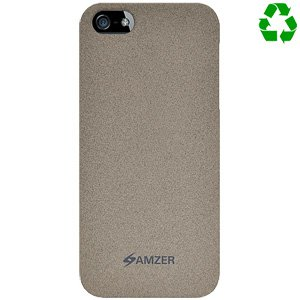 Premium Organics Snap On Hard Shell Case for iPhone SE, iPhone 5S, iPhone 5 - Sand