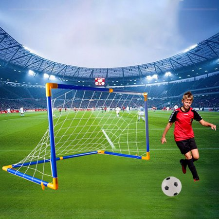 Premium Portable Soccer Goal Set Endless Fun And Game Time Indoor And (Best Soccer Goals Of All Time)
