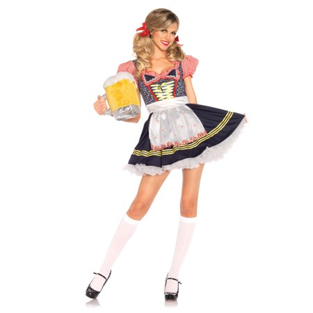 Leg Avenue Beer Stein Babe Adult Womens Costume (Beer Babe Costume)
