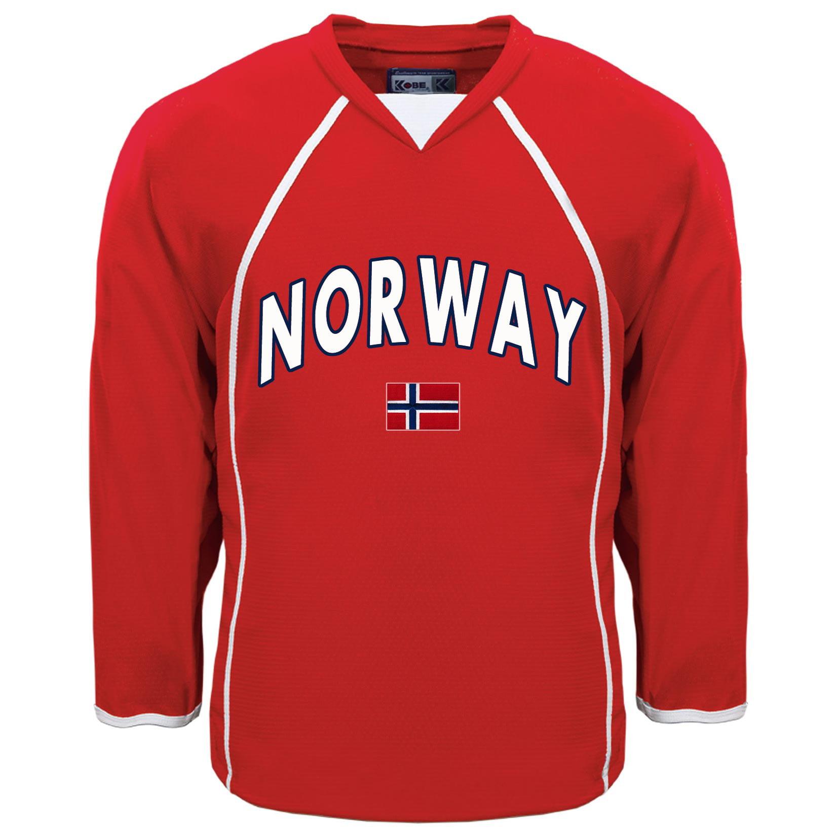 Norway MyCountry Fan Hockey Jersey IceJerseys