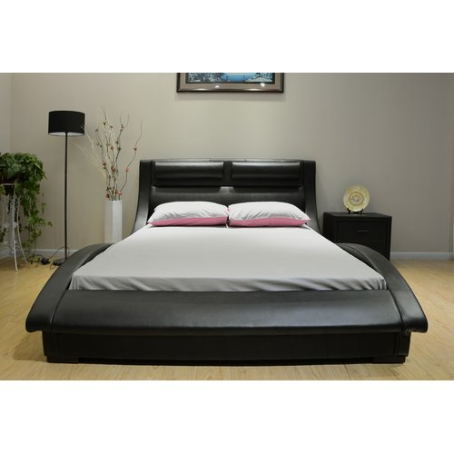 Greatime Upholstered Platform Bed by Greatime