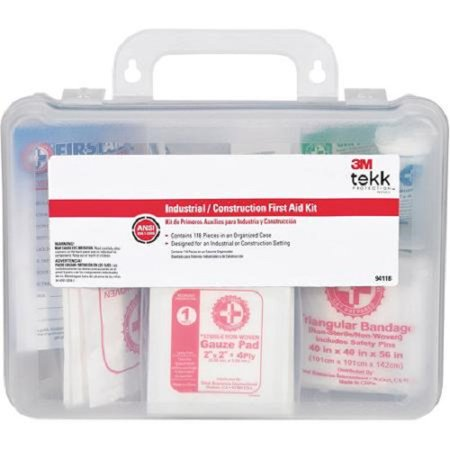 3M - (5 Pack) Tekk Protection - 94118-80025T - Industrial First Aid Kit