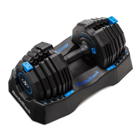 Nordictrack 50lb Adjustable Dumbbell w/Tray Now $89.99 (Was $166.99)