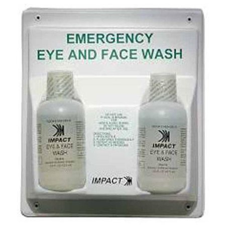 "Double impact Produits Eye - Face Wash Station - 16 Oz - 13"" X 4"" X 11"" - Blanc (7349-40)"