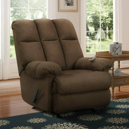 (Dorel Living Padded Massage Rocker Recliner, Multiple Colors)