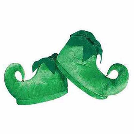 Deluxe Elf Shoes Adult Halloween Costume Accessory](Elf Yourself For Halloween)
