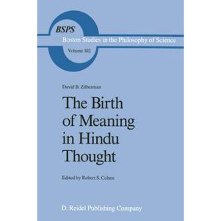 The Birth of Meaning in Hindu Thought - eBook](Halloween Birth Meaning)