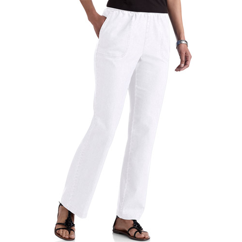 White Stag Women's Comfort Waist Pull On Pants