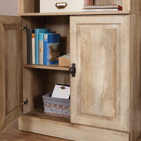 Better homes gardens 71 crossmill bookcase with doors - Better homes and gardens bookshelf ...