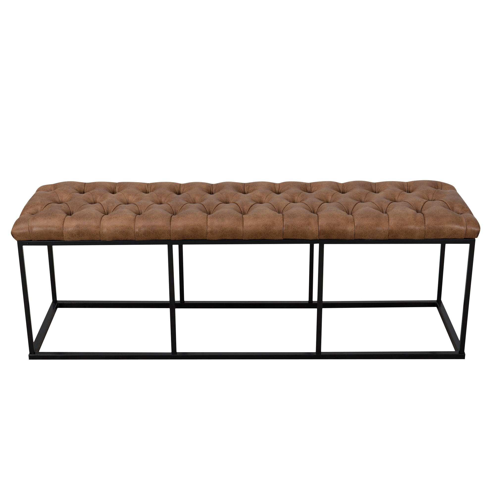HomePop Downing Large Decorative Bench, Multiple Colors
