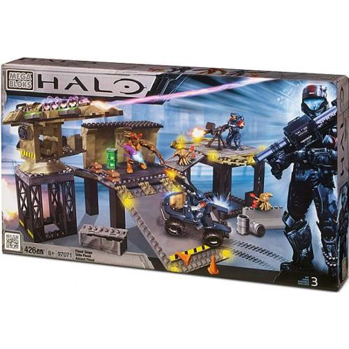 Mega Bloks Halo Covert Ops: Flood Siege Exclusive Set #97071 by
