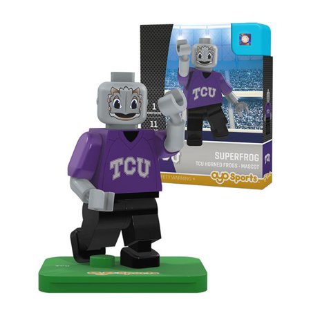 TCU Horned Frogs OYO Sports Superfrog Generation 2 Mascot Figurine - No Size