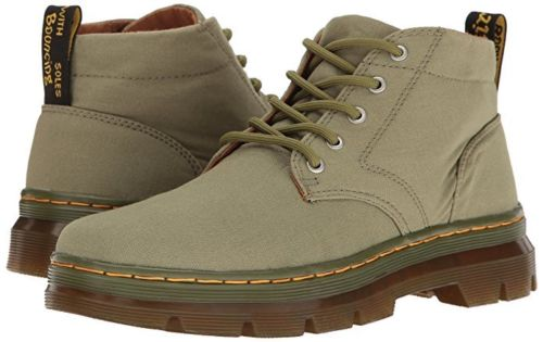 Dr. Martens Bonny Men's Shoes Canvas Boots 22054317 Mid Khaki Canvas by Dr. Martens