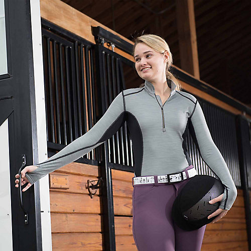 FITS Erin-2 Base Layer Small Black by FITS Riding