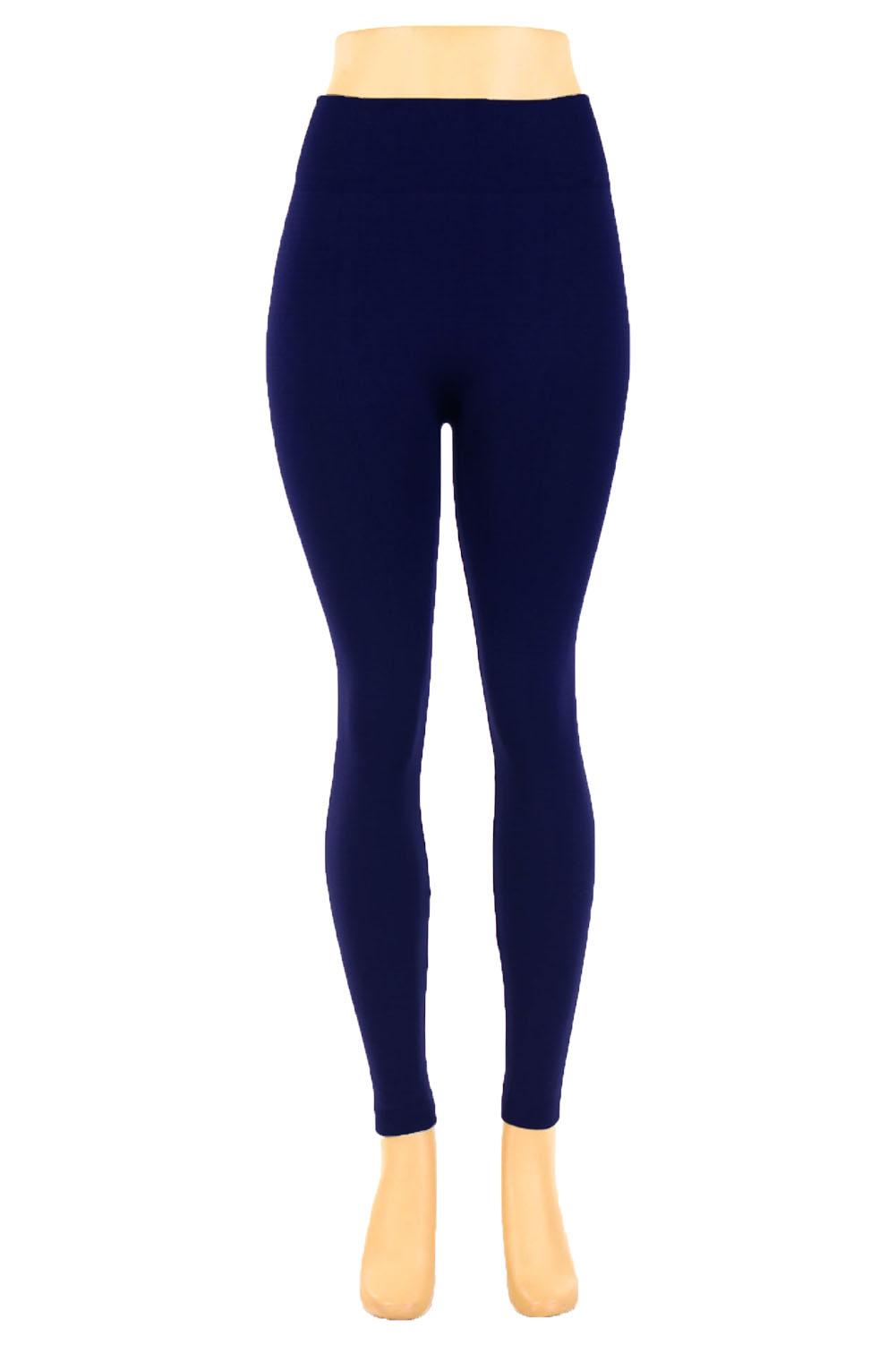 Docele Women's Regular & Plus Size Fleece Lined Leggings - Walmart.com