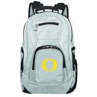 NCAA Oregon Ducks Gray Premium Laptop Backpack