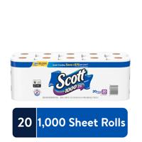 Scott 1000 Toilet Paper, 12-30 Rolls