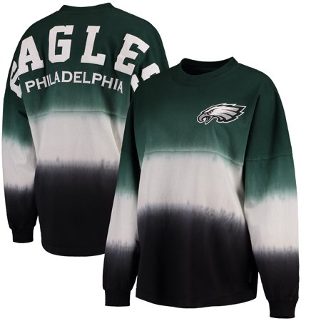 b9903524 Philadelphia Eagles NFL Pro Line by Fanatics Branded Women's Spirit Jersey  Long Sleeve T-Shirt - Midnight Green/Black