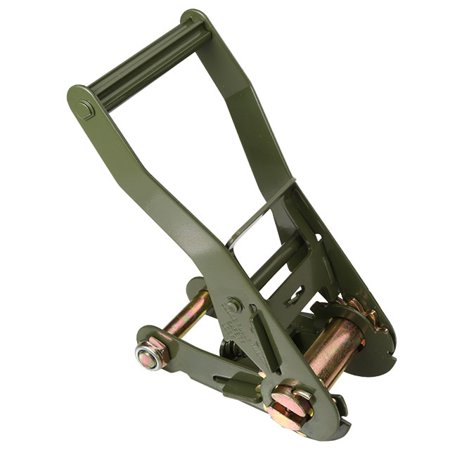 "2"" Ratchet with Long Wide Handle - Olive Drab Finish"