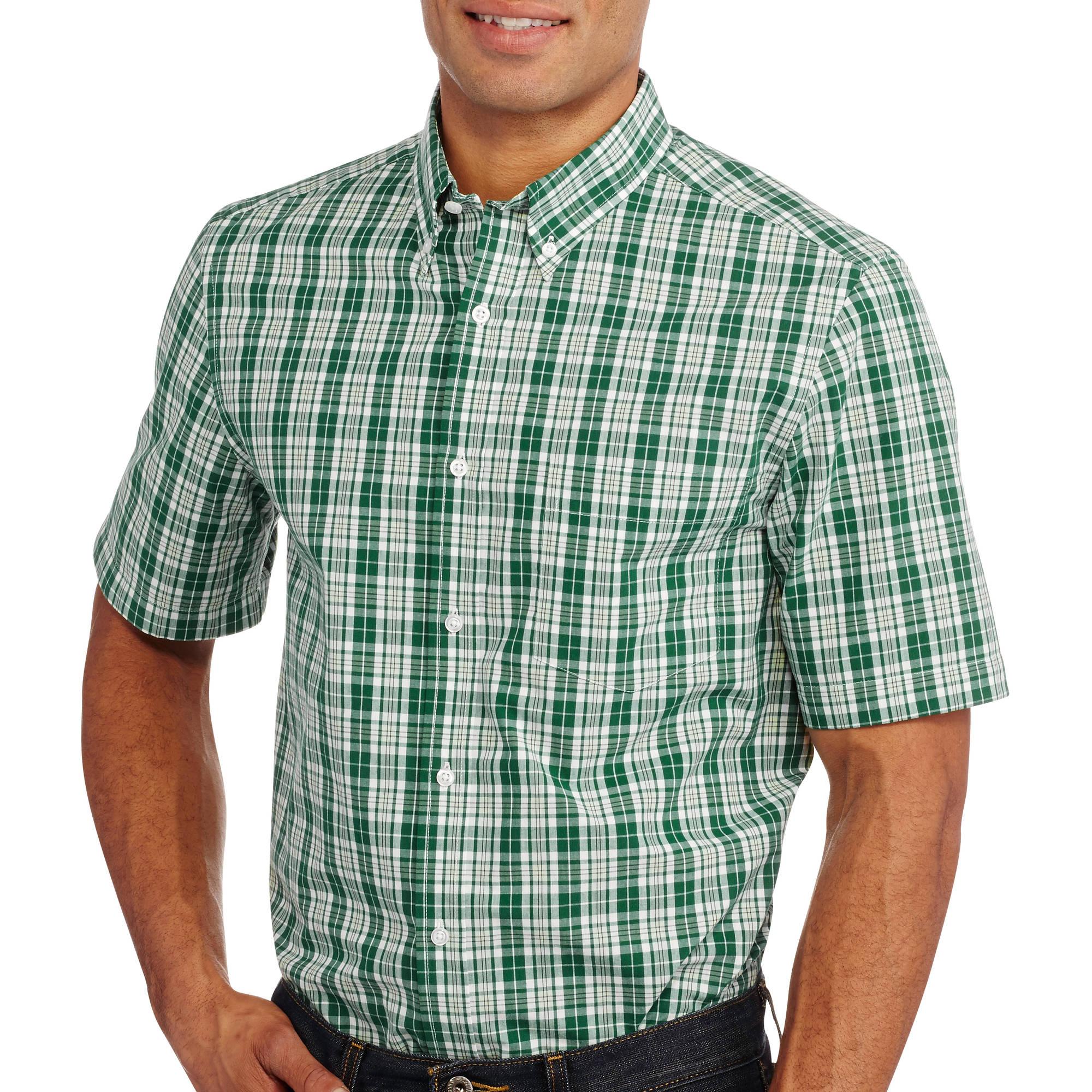 George Men's Short Sleeve Poplin Shirt