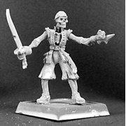 Reaper Miniatures Grim Pete, Razig Sergeant #14273 Warlord, Razig Unpainted Mini