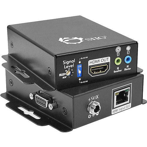 Siig Hdmi Extender Over Single Cat5/6 Wi