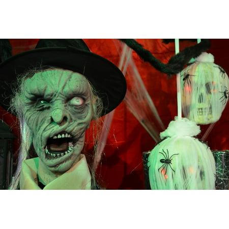 LAMINATED POSTER Decoration Deco Skull And Crossbones Halloween Poster Print 24 x 36 (Deco Halloween Maison)