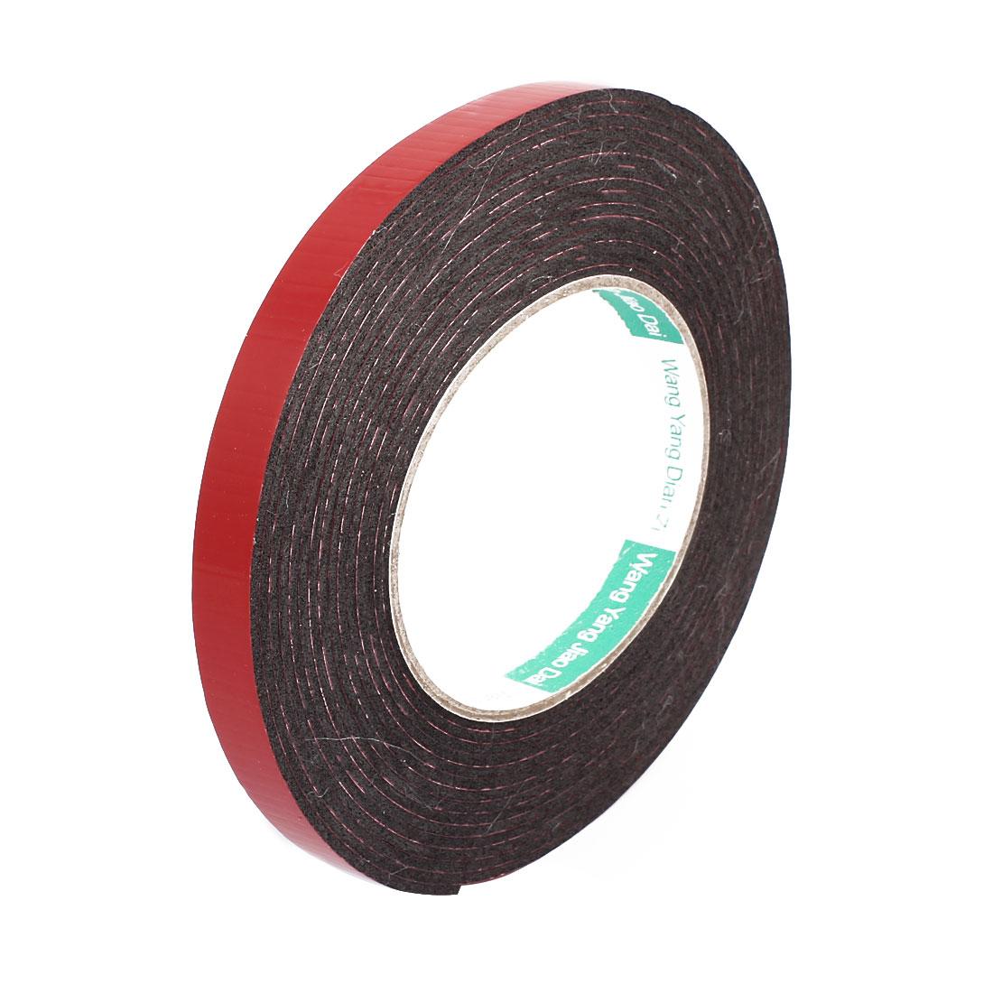 12mm Dual Side Adhesive Shock Resistant Anti-noise Foam Tape 5M Length
