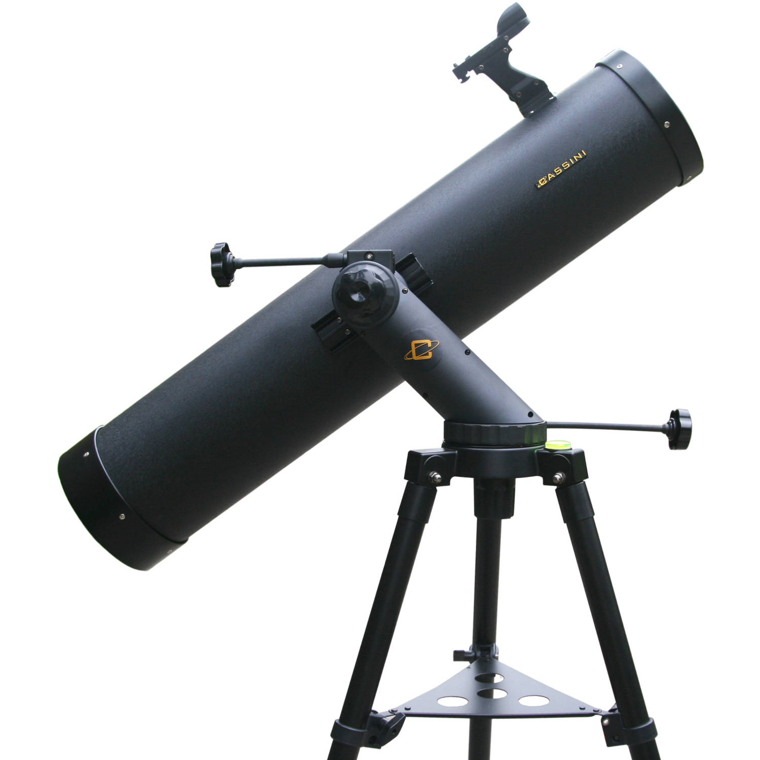 Cassini 900mm x 135mm Tracker Series Astronomical Reflector Telescope with Tripod - Black, C-900135TR