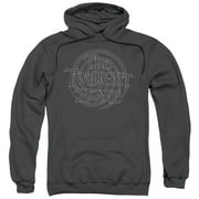 The Twilight Zone Spiral Logo Mens Pullover Hoodie