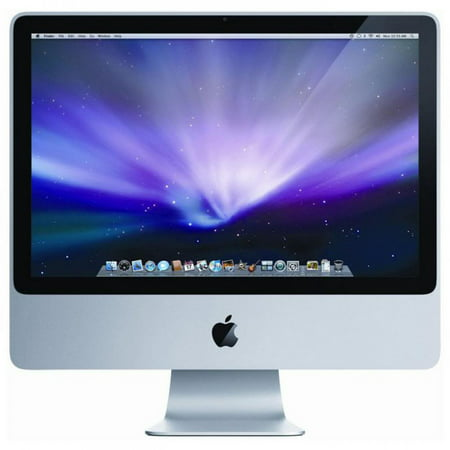Refurbished Apple Imac 20  All In One Aluminum Computer Intel Core 2 Duo 2 26Ghz 2Gb 160Gb