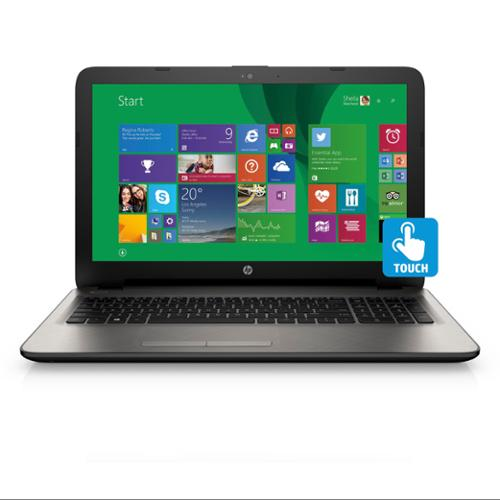 """Refurbished HP 15-af027cl, AMD A8-7410 Quad-Core, 15.6"""" HD LED touchscreen, Win 8.1 Notebook"""