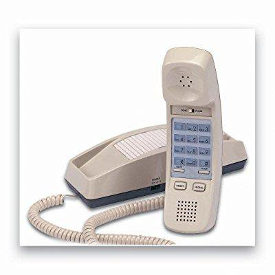 cortelco itt-8150as trendline corded telephone - ash