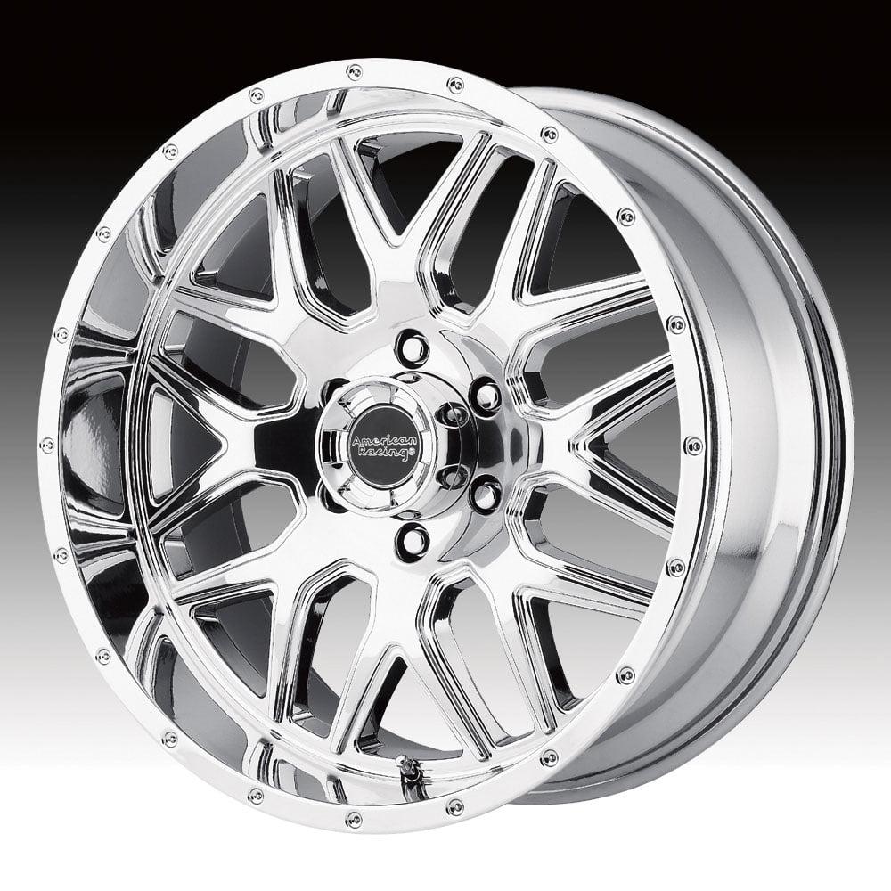American Racing AR910 Chrome PVD 20x9 6x5.5 0mm (AR91029068800)