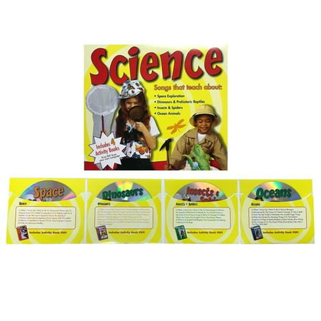 PBS Publishing PBSCTM1080 Science Songs 4 CD Set - image 1 of 1