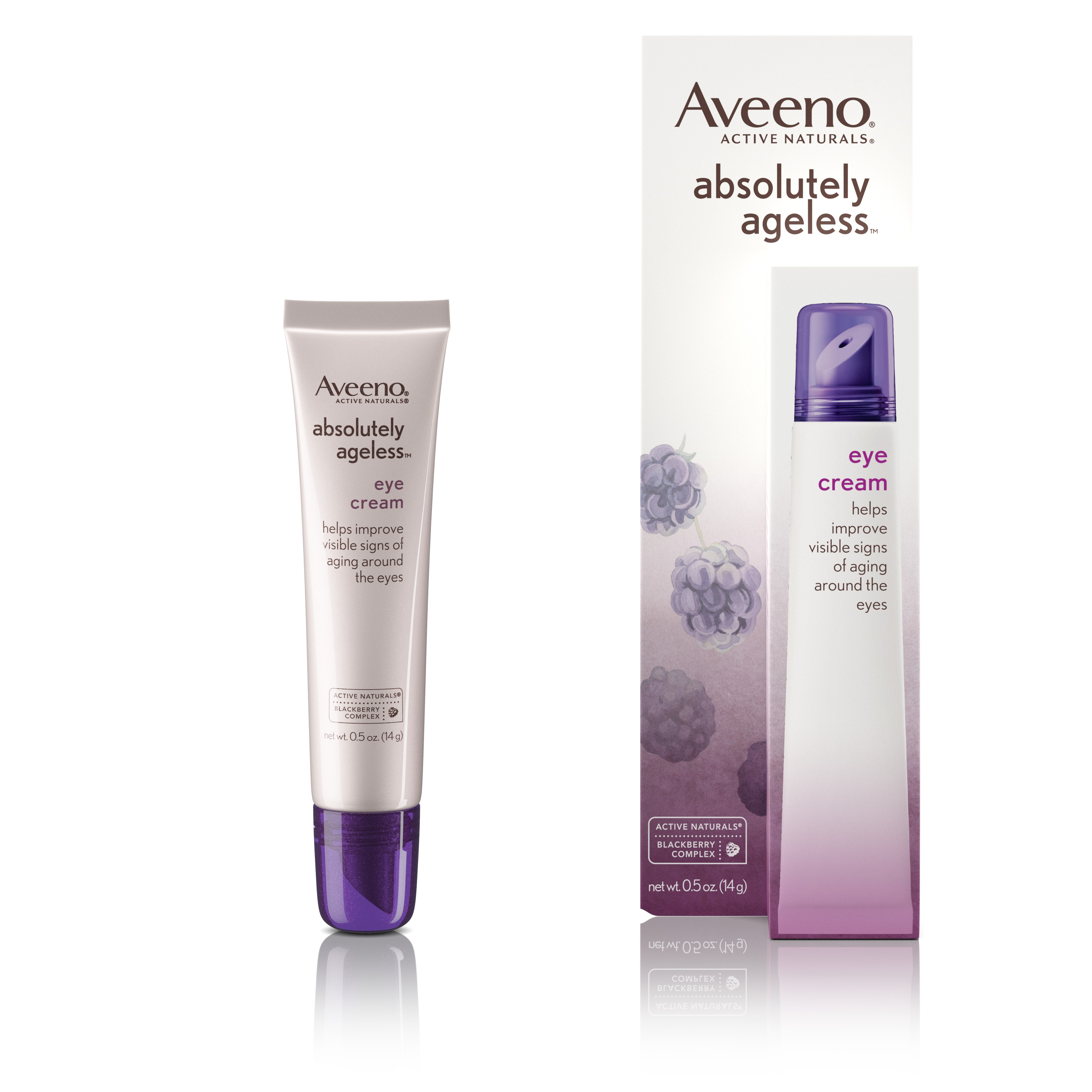 Aveeno Absolutely Ageless 3-in-1 Under Eye Anti-Wrinkle Cream, 0.5 oz