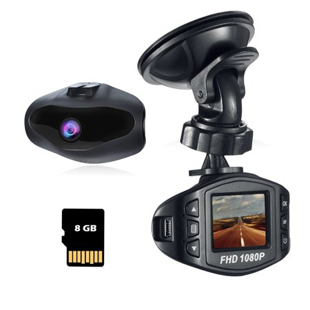 Acumen Dash Cam for Cars with Wide Angle Video Recorder Vehicle Dashboard Camera Exmor Sensor WDR Loop Recording Memory Card