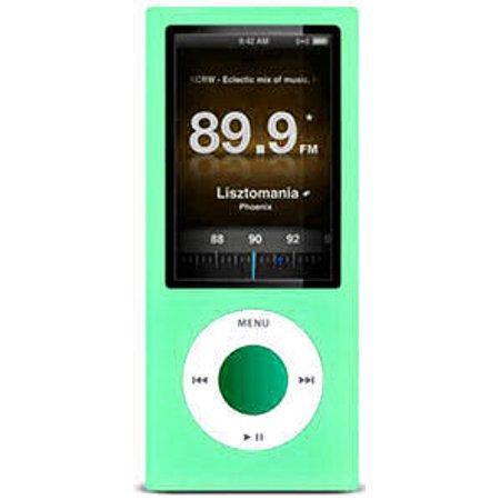Protective Silicone Skin for 5th Generation iPod Nano 5G - Aqua Green