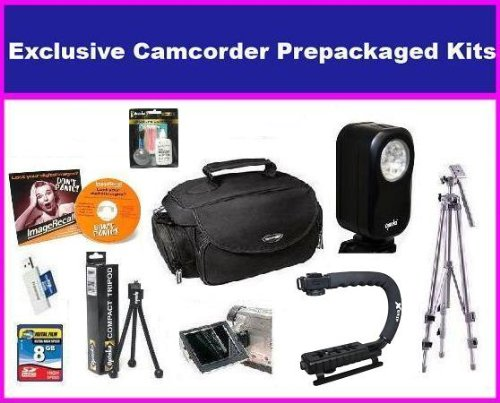 Enthusiast Accessory Package For JVC GZ-HM300 GZ-HM320 hm340 GZ-HM400 GZ-HM550 GZ-MG750JVC GZ-MS110 GZ-MS230... by Opteka