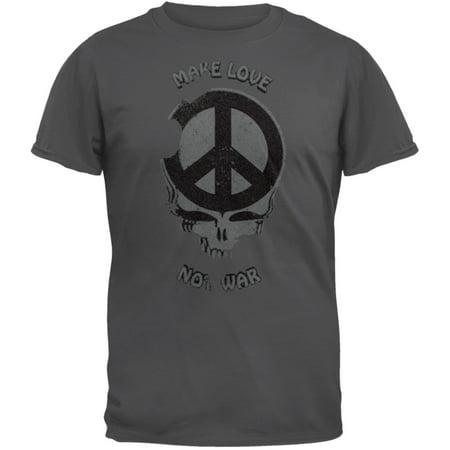 Grateful Dead   Make Love Not War Soft T Shirt