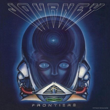 Journey - Frontiers, 1983 1980s Classic Rock Music Album Cover Artwork Poster Wall - Rock Album Cover Art