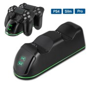PS4 Controller Charger, EEEkit DualShock 4 PS4 Controller USB High-Speed Charging Dock, Playstation 4 Charging Station for Sony Playstation4 / PS4 / PS4 Slim / PS4 Pro Wireless Controller