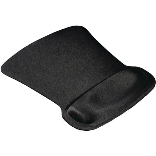 Allsop 30191 Ergoprene Gel Mouse Pad with Wrist Rest, Black by Allsop