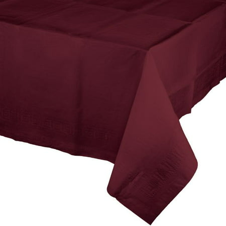 (4 pack) Touch of Color Tissue Tablecover, 54