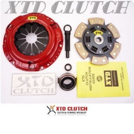 XTD STAGE 3 CLUTCH KIT CELICA COROLLA XR-S MATRIX MR-2 VIBE GT 1.6L 1.8L 4CYL (4cyl Clutch)